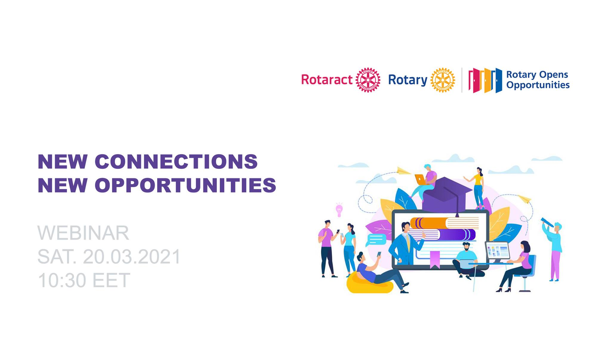 "Webinar ""New connections, new opportunities"""